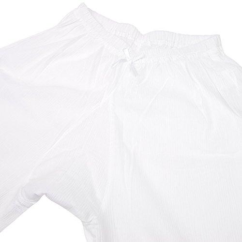 [キョウエツ]肌着ステテコクレープレース付き通年06レディース(L)