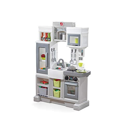 Step2 Downtown Delights Play Kitchen | Kids Kitchen Playset | Kitchen Toy with...