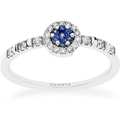 anello donna gioielli Comete Girasole elegante cod. ANB 2274