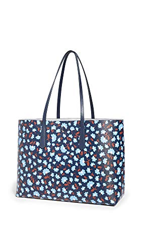 Kate Spade New York Women's Molly Party Floral Large Tote, Blazer Blue Multi, One Size