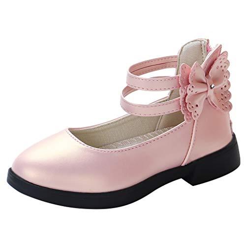 Cuteelf Der süße Bogen der Kindermädchen kleine Schuhprinzessin beschuht einzelne Schuhsandalen Kleinkind...