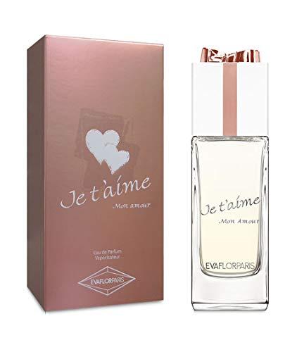 JE T'AIME Mon Amour • Eau de Parfum 100ml • Profumo donna • Spray • Per Lei • EVAFLORPARIS