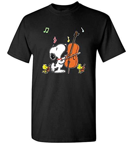 Camiseta de guitarra Snoopy