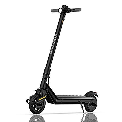 KUKUDEL Scooter Elettrico Pieghevole E-Scooter Realizzato in Lega di Alluminio, Display LCD Multifunzionale, velocità Massima 25 km/h, Oltre 30 km di Autonomia,...