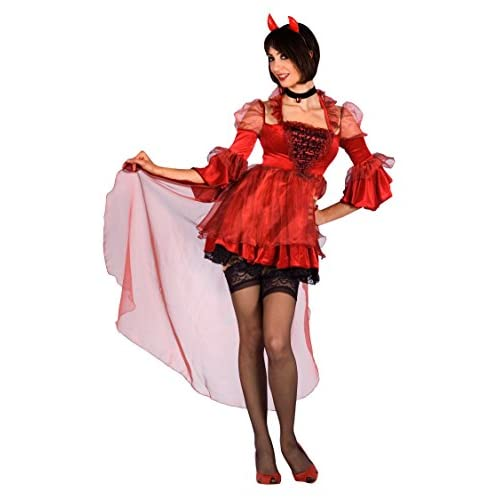 Fiori Paolo-Diavoletta Sexy Costume Adulto, Rosso, M, 25760