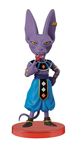 Banpresto Dragon Ball Z 2.8-Inch God of Destruction Beerus World Collectable Figure, Z Warriors by Banpresto