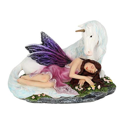 Nemesis Now 16cm Figurine Euone-Figura Decorativa (16 cm), Morado, Talla única