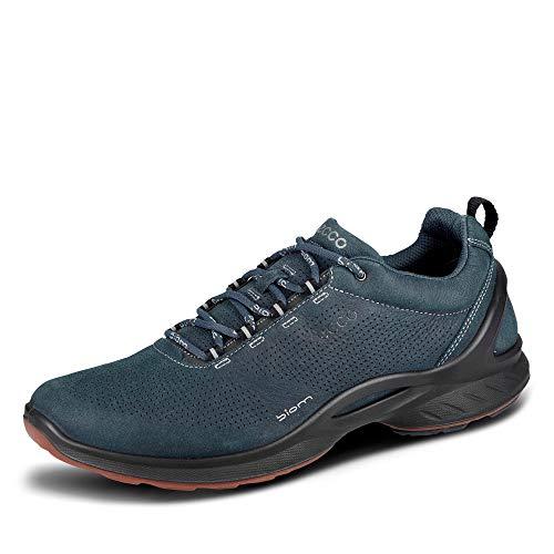 Ecco BIOM FJUEL męskie buty do biegania w terenie, niebieski granatowy 11058, 41 EU