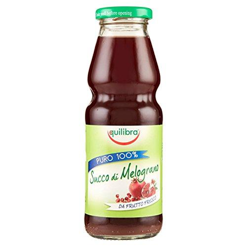 Equilibra Succo di Melograno Puro 100%, 330 ml