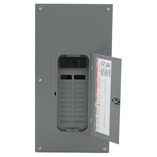 Square D by Schneider Electric HOM2040M200PC Square D Convertible Mains (Breaker) Load Center, 120/240 Vac, 200 A, 1 Phases, 22000 Air Interrupt