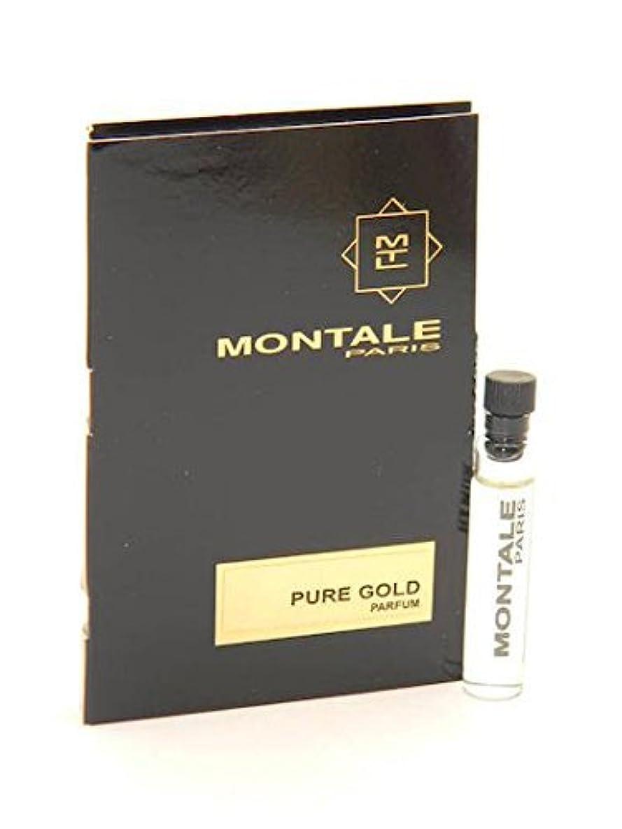 説明する歩き回る農場Montale Pure Gold EDP Vial Sample 2ml(モンタル ピュア ゴールド オードパルファン 2ml)[海外直送品] [並行輸入品]