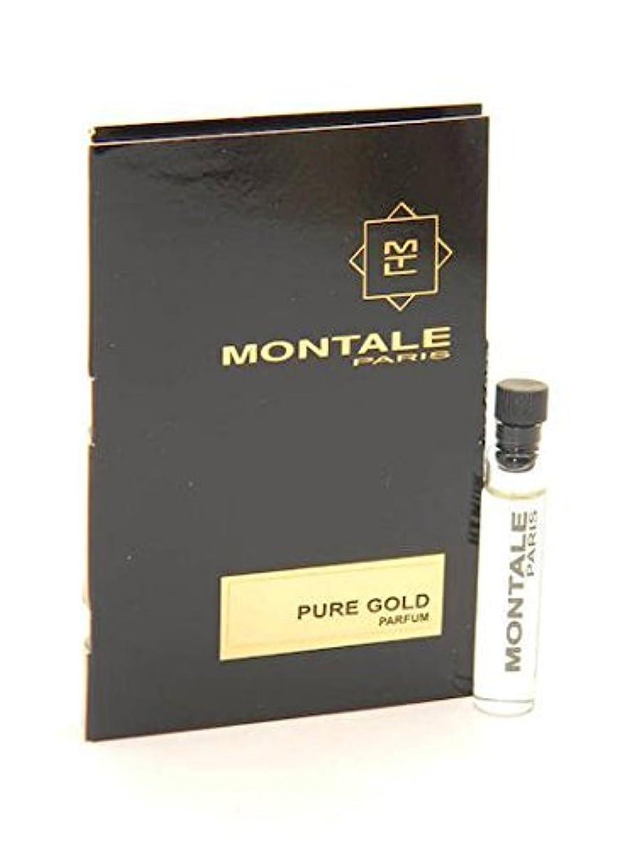 インポート病なクロニクルMontale Pure Gold EDP Vial Sample 2ml(モンタル ピュア ゴールド オードパルファン 2ml)[海外直送品] [並行輸入品]