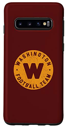 Galaxy S10 Washington Football DC Sports Team WFT Game Day Disterssed Case