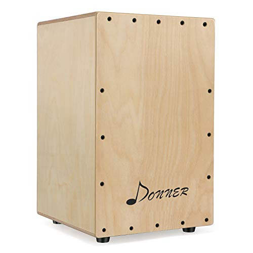 Donner Percussion Cajon Drum Box Full Size DCD-1 mit Tasche