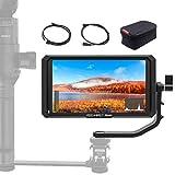液晶フィールドモニター FEELWORLD Master MA5 カメラ用撮影モニター 5インチIPS 超薄型 1920x1080 HDオンカメラビデオモニター 4K HDMI信号入力 一眼レフカメラ撮影確認用