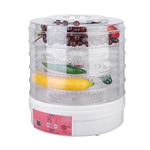 Learn More About Food Dehydrator Machine,Portable 5 Layer 28cm Electric Fruit Dehydrator with Intell...