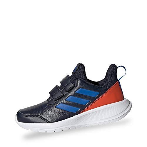adidas Performance G27230 Altarun CF Jungen Mädchen Sportschuh aus Mesh Textilausstattung, Groesse 36, dunkelblau/rot