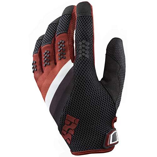 IXS DH-X5.1 MTB DH Handschuhe - schwarz rot