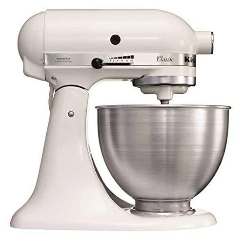 Kitchenaid K45SS EWH Keukenmachine, 250 Watt, Wit