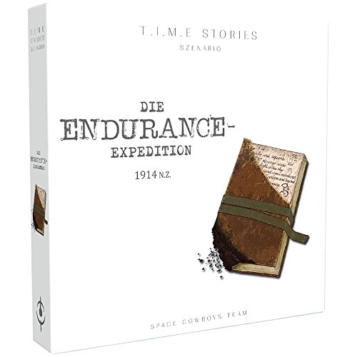 Space Cowboys SCO0006 - T.I.M.E Stories - The Endurance Expedition