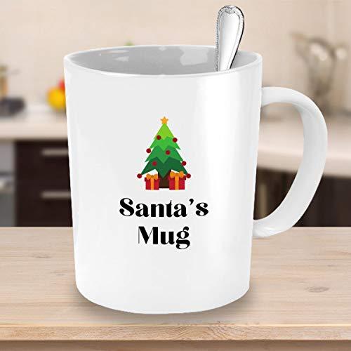 Santas mok met schattige boom koffie mok kerstcadeau ideeën
