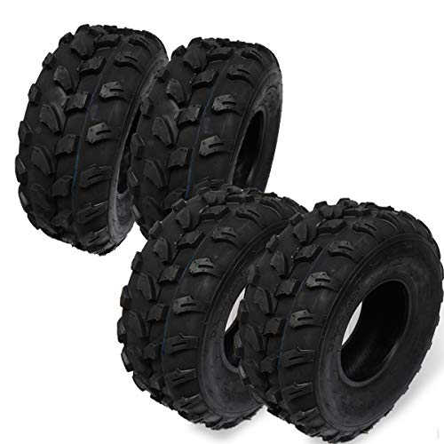Set 4 Gomme Pneumatici per Mini Quad ATV (2) 19x7-8 + (2)18x9.5-8