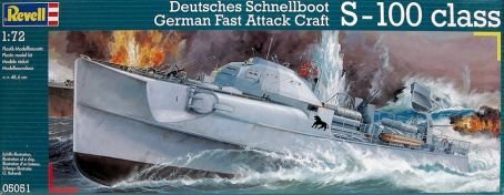 Revell German Fast Attack Craft S-100 Class 1:72 Scale Military Model Kit