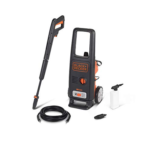 Black and Decker BXPW1600E Hidrolimpiadora de Alta Presión (1600 W, 125 bar, 420 l/h)