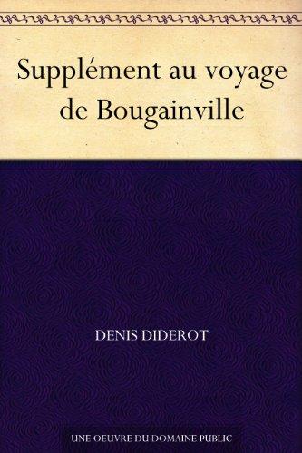 Couverture du livre Supplément au voyage de Bougainville