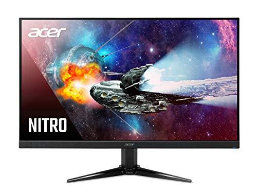 "Acer Nitro QG241Y Pbmiipx 23.8"" Full HD (1920 x 1080) VA Gaming Monitor with AMD FreeSync Premium Technology, Up to 165Hz, 1ms (VRB), HDR10, (1 x Display Port 1.2, 1 x HDMI 2.0 & 1 x HDMI 1.4)"