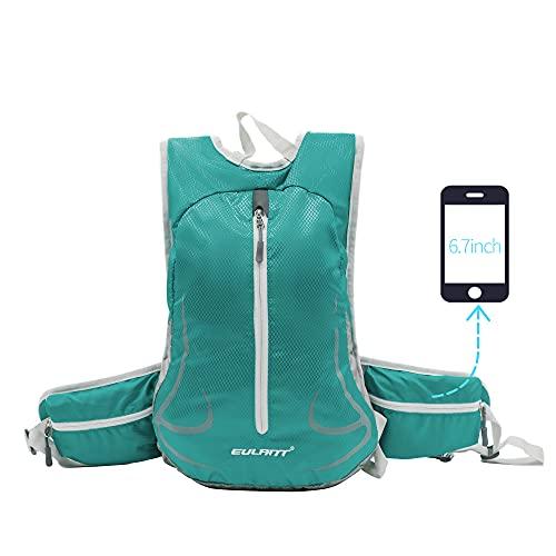 EULANT Mochila ligera para correr, impermeable, para mujeres y hombres, pequeña mochila de viaje para ciclismo, senderismo, camping, senderismo, viajes, pesca, escuela, senderismo, montañismo
