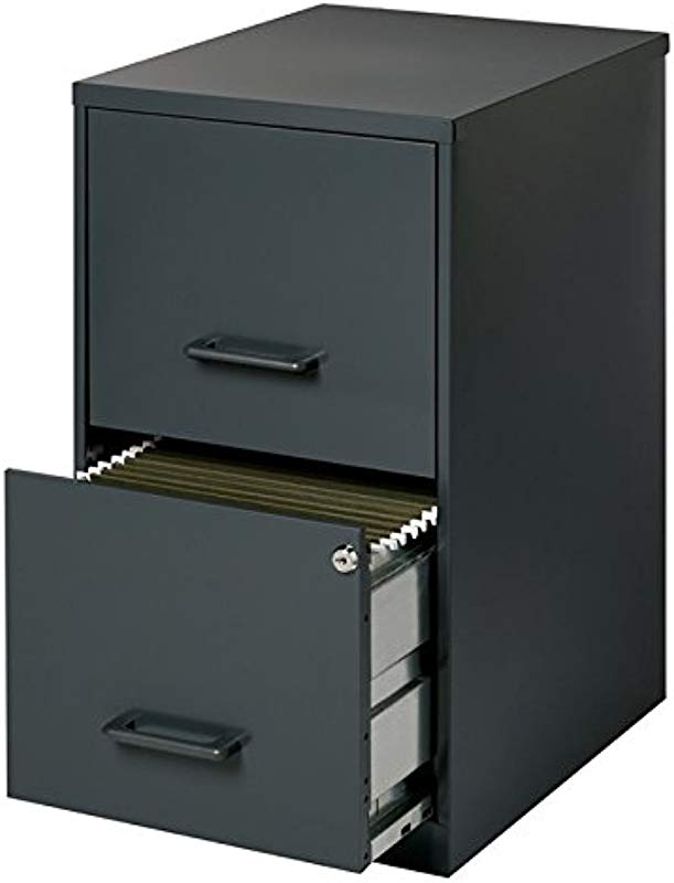 Scranton Co 2 Drawer Letter File Cabinet In Black