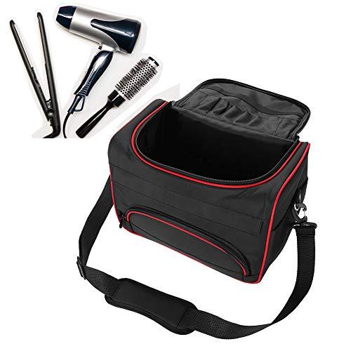 Friseursalon Friseurtasche Werkzeugtasche Tragbare Große Kapazitäts Friseur Bag mit Schultergurt Zubehörtaschen Reise