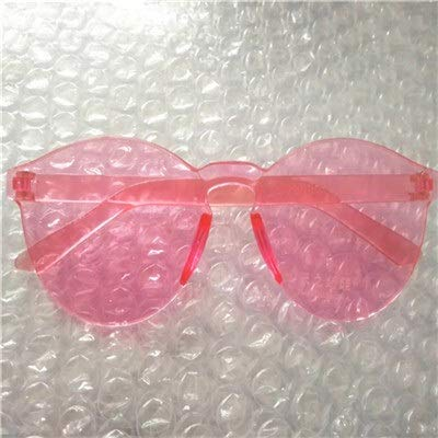 xingxing Gafas de sol redondas para bebés y niñas, estilo vintage, de cristal flecha, 100% protección UV de 3 a 13 años (lentes de color: rojo)