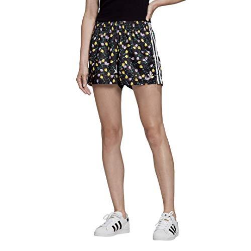 adidas Originals Women's All Over Print Shorts Multicolor Large