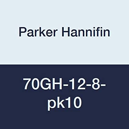 3//4 Male Hose Thread x 1//2 Female Thread Parker Hannifin 80GH-12-8 Brass Garden Hose Fitting