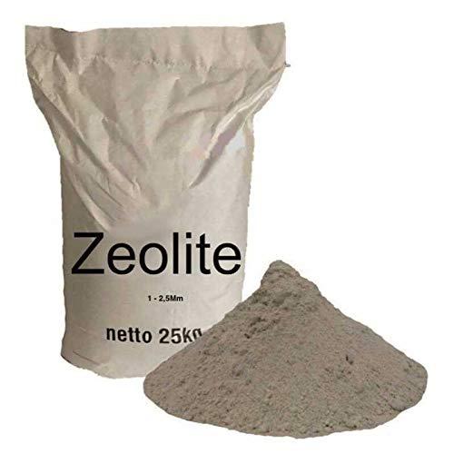 Zeocem Zeoliet voor aquarium, zwembad en vijver biologie 25 kg - 1-25 mm zeoliet