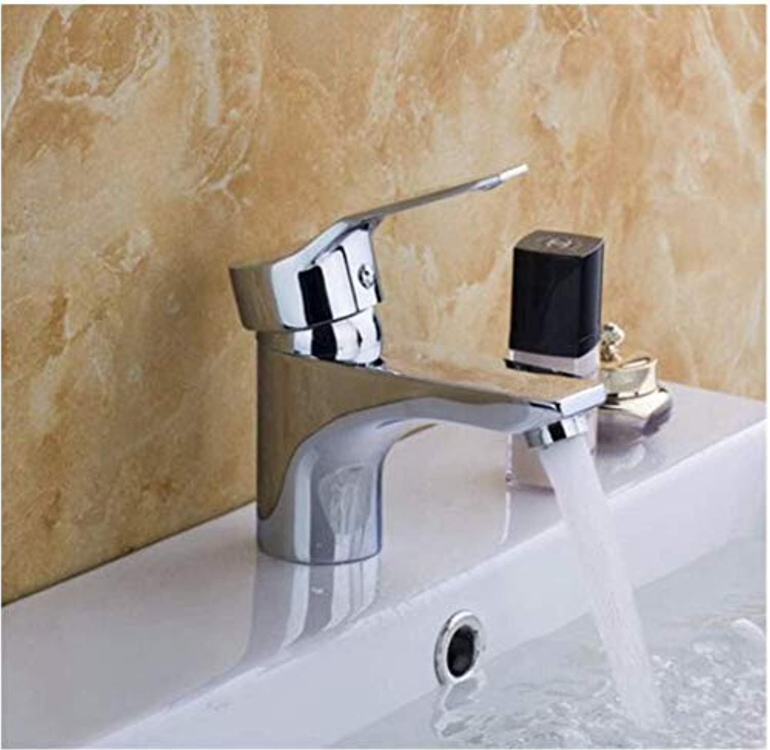 Faucet Lead-Free Square Innovationbasin Single Handle Bathroom Wash Tap Zinc Faucets