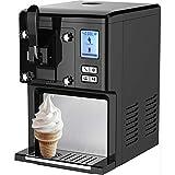 Syntrox Germany Eismaschine mit Kompressor Softeismaschine Frozen-Joghurt Maschine IC 200 Arctis
