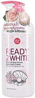 Body Bath Cream Cathy Doll Pearl & Rose Serum 500 ml. Ready 2 White By Cathy doll