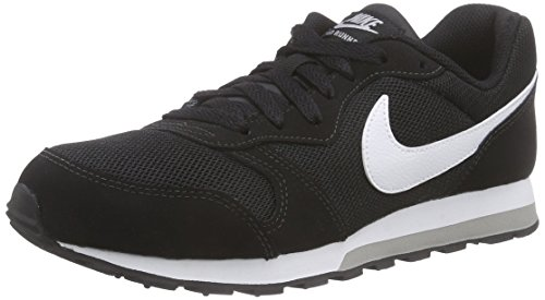 Nike MD Runner 2 (GS), Zapatillas de Deporte Unisex Adulto, Multicolor (807316 001 Negro), 39 EU