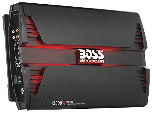 BOSS Audio PD5000 Phantom 5000W Monoblock, Klasse D Amplifier