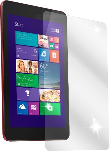 dipos I 3x Schutzfolie klar kompatibel mit Dell Venue 8 Pro Folie Bildschirmschutzfolie