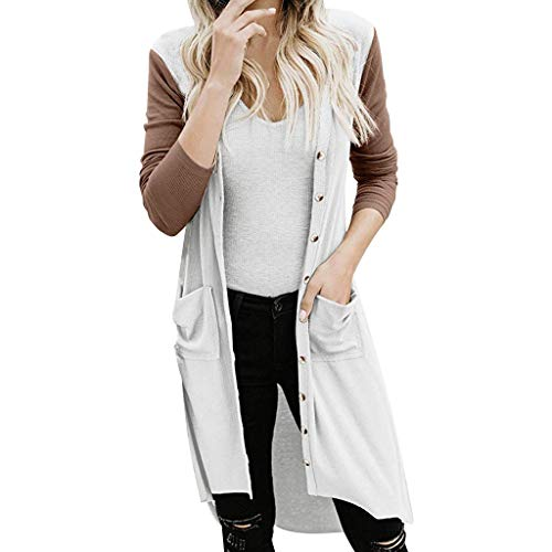 Best Price Womens Fashion Long Sleeve Cardigan Coats Outwear with Pockets Winter Open Front Sherpa F...