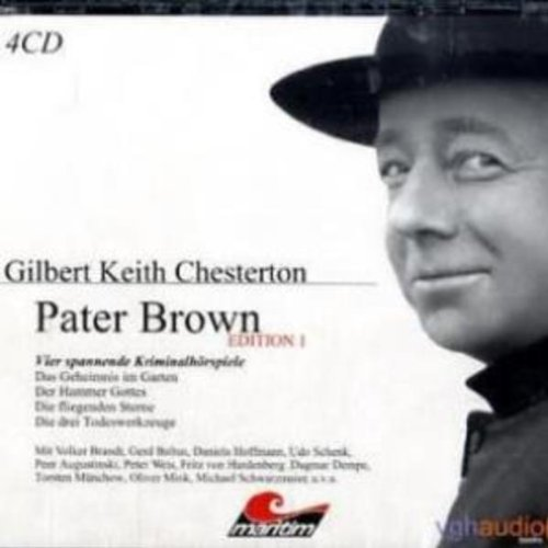 Vier Kriminalgeschichten - Pater Brown (Edition 1) audiobook cover art