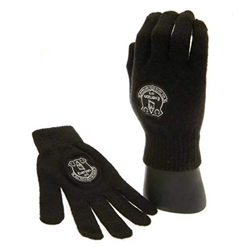 Everton F.C. - Guantes, color negro
