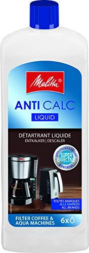 Melitta 90451942 Liquide Détartrant Anti Calcaire pour Cafetières Filtres 250 ml