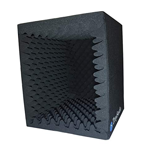 TroyStudio Portable Sound Recording Vocal Booth Box - |Reflection Filter &...