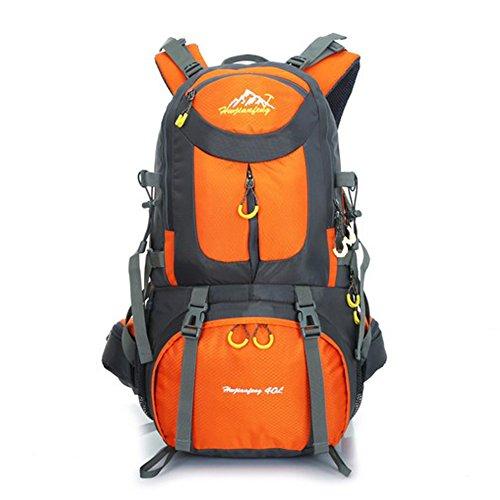 Koola Outdoors Hommes Femmes Camping Randonnée Escalade Voyage d'équipe Sac à dos Sac de sport Imperméable Capacité Max-50L