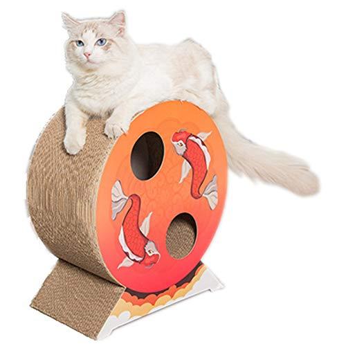 BCCDP Rascador para Gatos de Cartón Juguete para Gatos Sofá de Juguete para Gatos Alfombrillas de Carton Rascador de Gato Corrugado Juguete Cat Scratch Guards Cartón Cama Rascador
